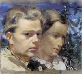 Doppelportrait Rudi und Giggi