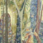 Papageno, Zauberflöte-Verdure, Staatsoper (Tapisserieentwurf, gelbe Serie)