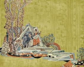 Orpheus und EurydikeEiserner Vorhang