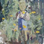 Friedrich – großes Kinderportrait im Wald