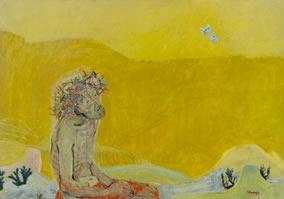 Christus und die Schmetterlinge
